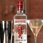Beefeater gin martini